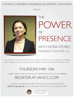 The Power of Presence: Speaker Doña Storey, President,...