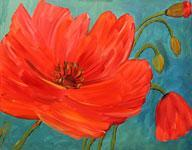 Deposit for Perfect Poppies - The Melting Pot 4-4-12