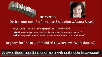 Be In Command of YOUR Performance Review