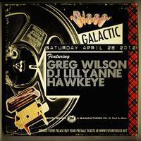 Disco Galactic with Greg Wilson