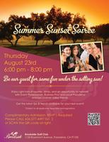 Brookside Golf Club Summer Sunset Soiree