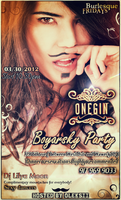 BOYARSKY PARTY on MARCH 30 @ restaurant Onegin