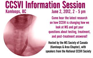 CCSVI Information Session - Kamloops, BC - June 2, 2012
