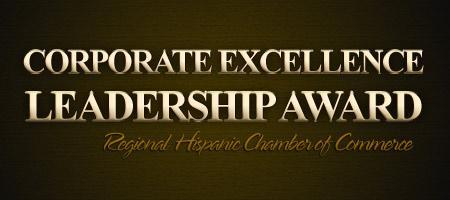 Corporate Excellence Award and Regional Mentorship Grad...