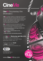 'CineMe Documentary Film Showcase 2.'