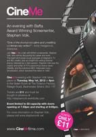 CineMe - An Evening With Bafta Winning Screenwriter,...