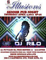 DJ Rilo - College Night - Thu Apr 5th 9pm