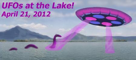 UFOs at the Lake! ~ April 21, 2012 ~ Smith Mtn Lake, VA