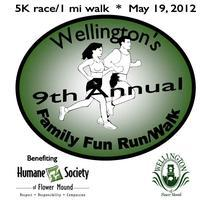 Wellington 5K Fun Run - Registration & T-Shirt Orders