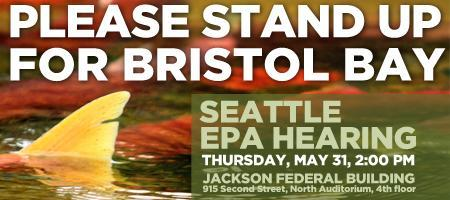 Seattle EPA hearing on the Bristol Bay Watershed Assess...