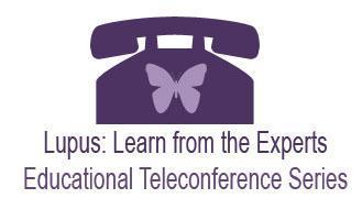 Vivir Con Lupus Lupus Educational Teleconference