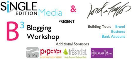 B3 Blogging Workshop