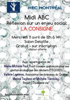 MIDI ABC - Réflexion sur un enjeu social : La consigne