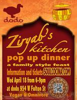 Soul Cocina presents Zyriab's Kitchen at DODO