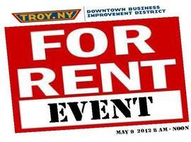 Downtown Troy's   'For Rent Event'