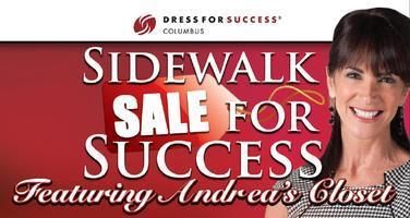 Sidewalk Sale for Success featuring Andrea's Closet!