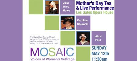 Voices of Mosaic Mother's Day Tea, Lunch & Live...