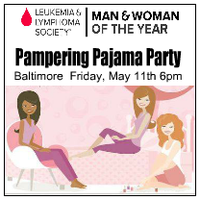 Pampering Pajama Party Fundraiser
