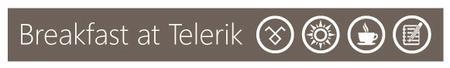 Breakfast at Telerik: Agile
