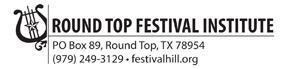 Round Top Music Festival June 9, 2012