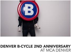 Denver B-cycle 2nd Anniversary Party