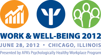 Work & Well-Being 2012