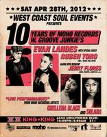 4/28 WCS Events pres. 10yrs of MoHo Music w / EVAN...