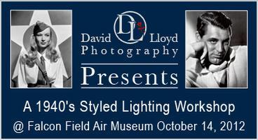 40's Hollywood Lighting Workshop at Falcon Field Air...