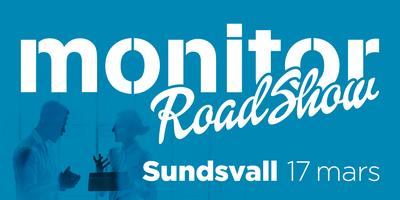 Monitor Roadshow Norra Sverige – Sundsvall 17/3 2021