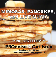 Live Music, Mimosas, and Pancake Brunch
