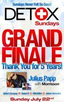 Detox Sundays Pool Party  l  SERIES FINALE - JULY 22,...