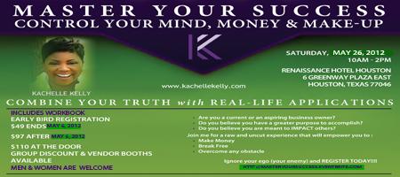 Master Your Success - Control your Mind, Money & Makeup