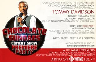 Tommy Davidson Hosts - Chocolate Sundaes Comedy Show...