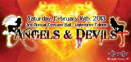 Angels & Devils Costume Ball 2013