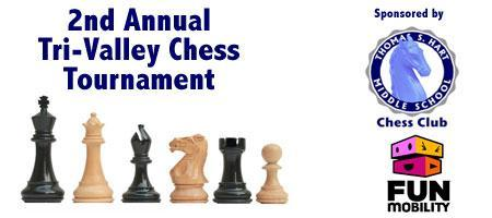 2nd Annual Tri-Valley Chess Tournament
