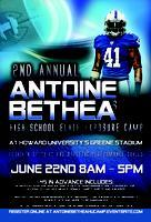 Indianapolis Colts' Antoine Bethea High School Elite...