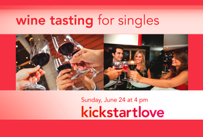 Wine Tasting for Singles (Ages 25-39)
