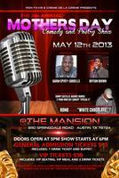 2nd Annual Mothers day Comedy and Poetry Show