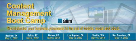 AIIM Content Management Boot Camp