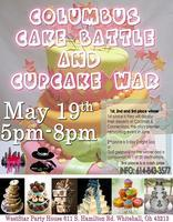 COLUMBUS CAKE BATTLE AND CUPCAKE WARS!!!