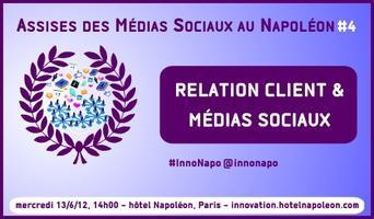 4e Assises des Médias Sociaux au Napoléon : 13/6/12,...