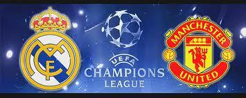 LIVE: UEFA CHAMPIONS LEAGUE ~ Manchester United v Real...