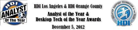 HDILA & HDIOC Analyst & Desktop Tech of the Year...