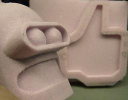 Pink Foam! 3D CNC to Casting Mold, April