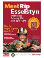 Rip Esselstyn Lecture and Vegan Supper