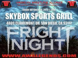 "American Wrestling Alliance presents ""FRIGHT NIGHT"""