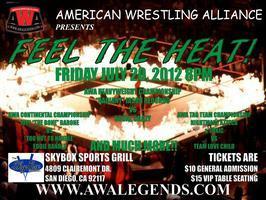 "American Wrestling Alliance presents ""FEEL THE HEAT!"""