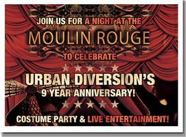Urban Diversions 9th Anniversary MOULIN ROUGE Costume...