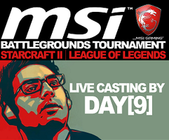 MSI Battleground Live Tournament 5/12-13 with Day9