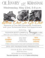 Mini Fashion Boot Camp @ Blow Out To Go Out